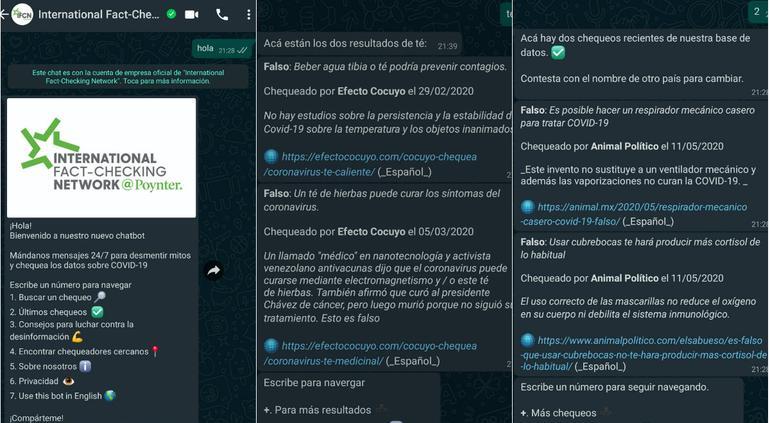 Presenta WhatsApp bot que desmiente fake news del coronavirus