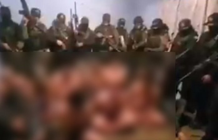 Circula vídeo de interrogatorio a supuestos sicarios del cjng