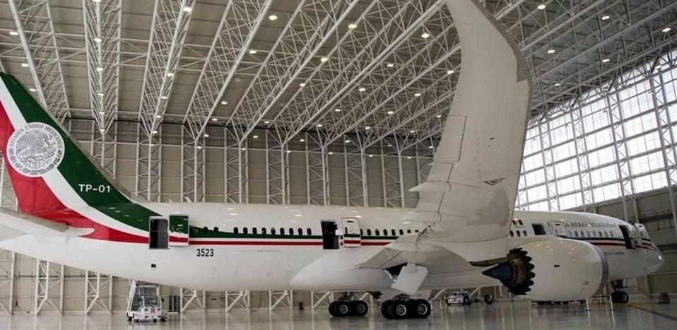 Gastan 78.5 mdp por mantenimiento de avión