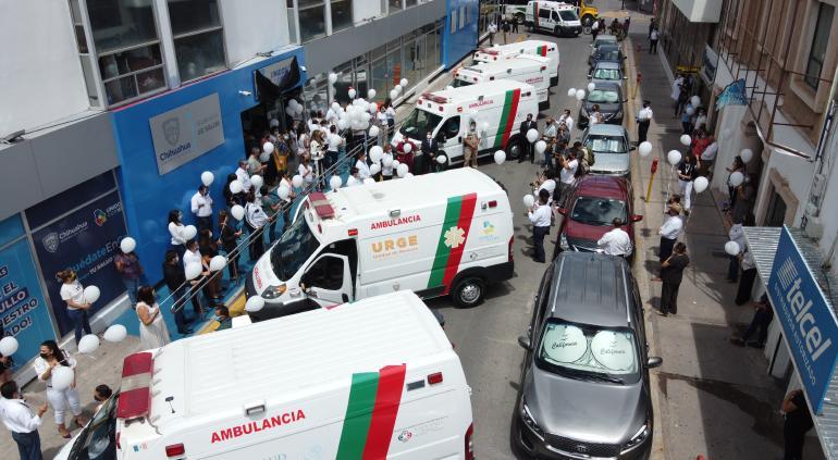 Avispón: Dieron el adiós al doctor Grajeda en Secretaría de Salud