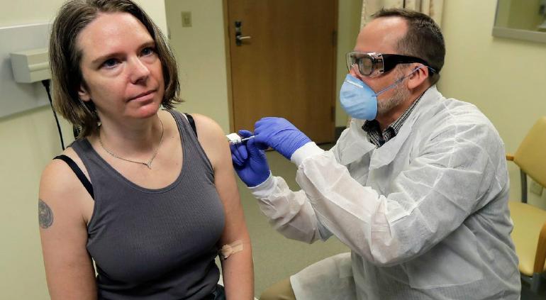 Éxito: Primera vacuna de EU crea anticuerpos que curan Covid