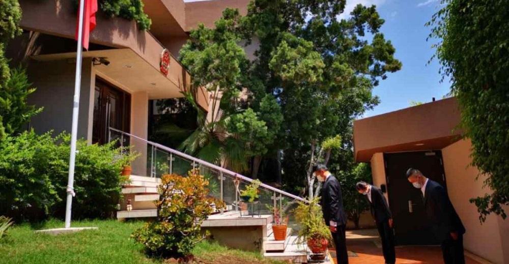Embajada de china rinde homenaje a mexicanos muertos por covid-19