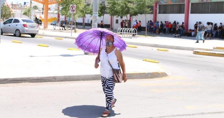 Temperatura en Juárez rebasa récord por segundo día consecutivo