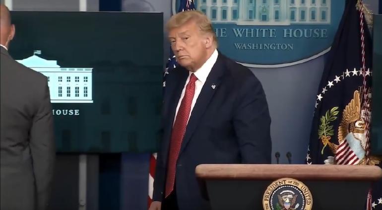 Abandona Trump conferencia; Servicio Secreto baleó a sospechoso