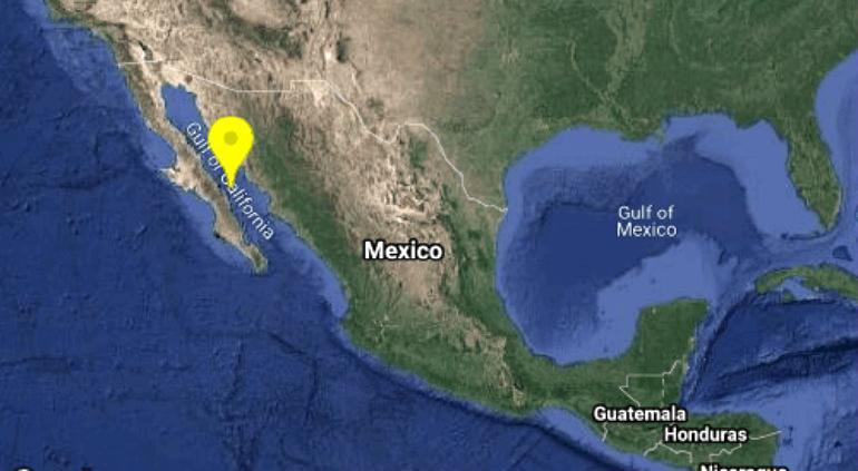 Surge sismo de magnitud 4.9 en Baja California Sur