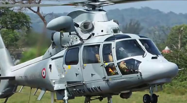 Encienden alarmas; desciende helicóptero de la Marina en Las Pilas