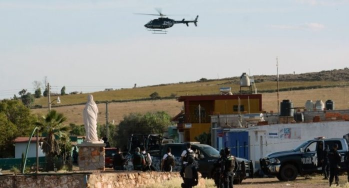 Agentes abaten 14 civiles armados en zacatecas