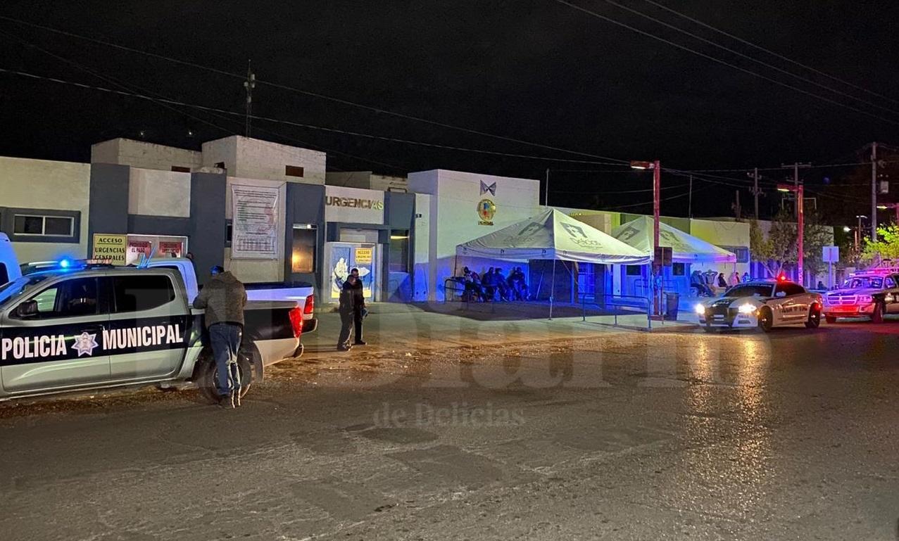Muere hombre afuera del Hospital Regional de Delicias