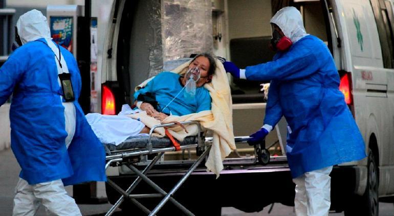 Registraron 8,107 contagios y 645 muertes nuevas por Covid en México