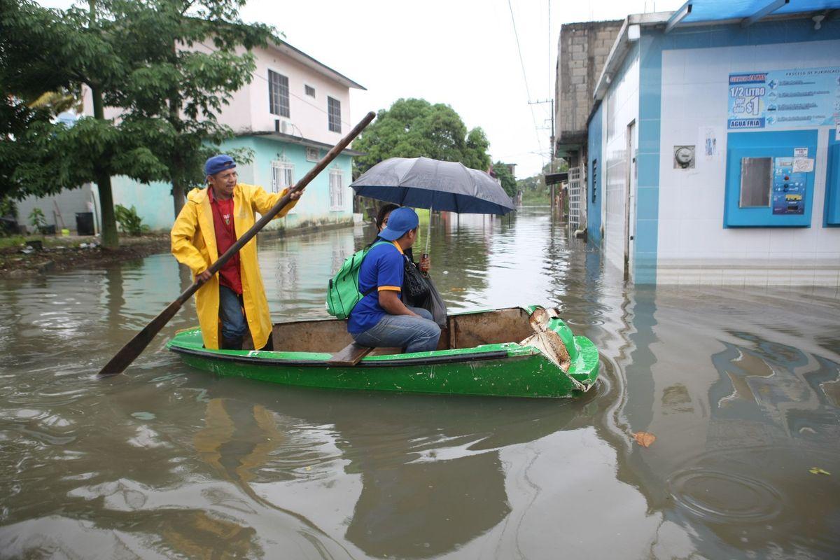 Más de 90 mil afectados y daños en 25 mil casas por lluvias en Tabasco