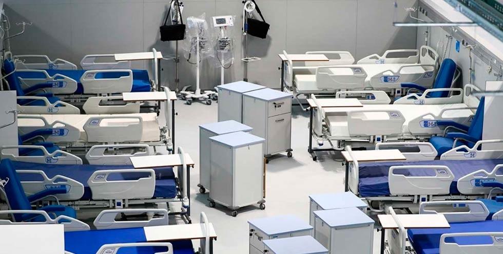 Inauguran en Madrid 'el hospital de pandemias'