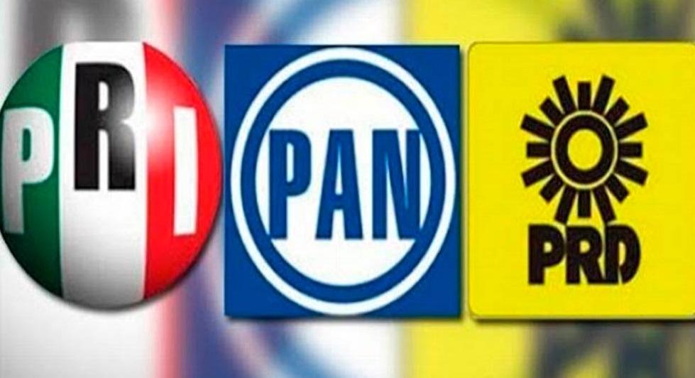 Oficial alianza nacional del PRI, PAN y PRD