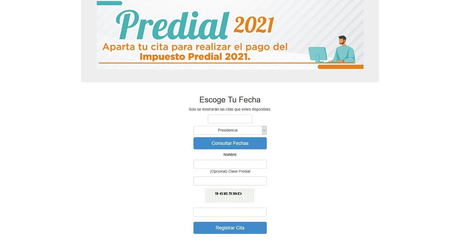 El Gobierno Municipal de Parral invita a agendar cita para el pago del impuesto predial 2021