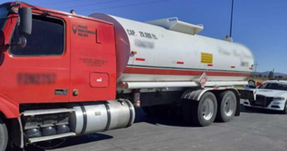 Aseguran 20 mil litros de combustible de aparente procedencia ilícita
