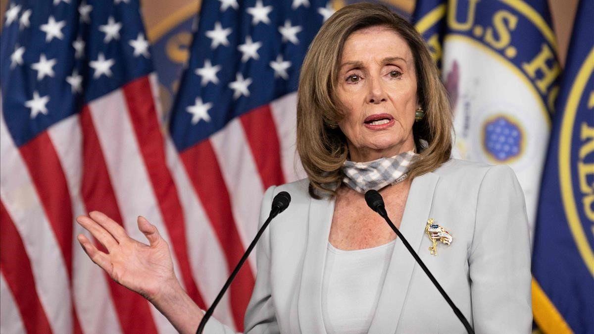 Habrá juicio político contra Trump: Nancy Pelosi