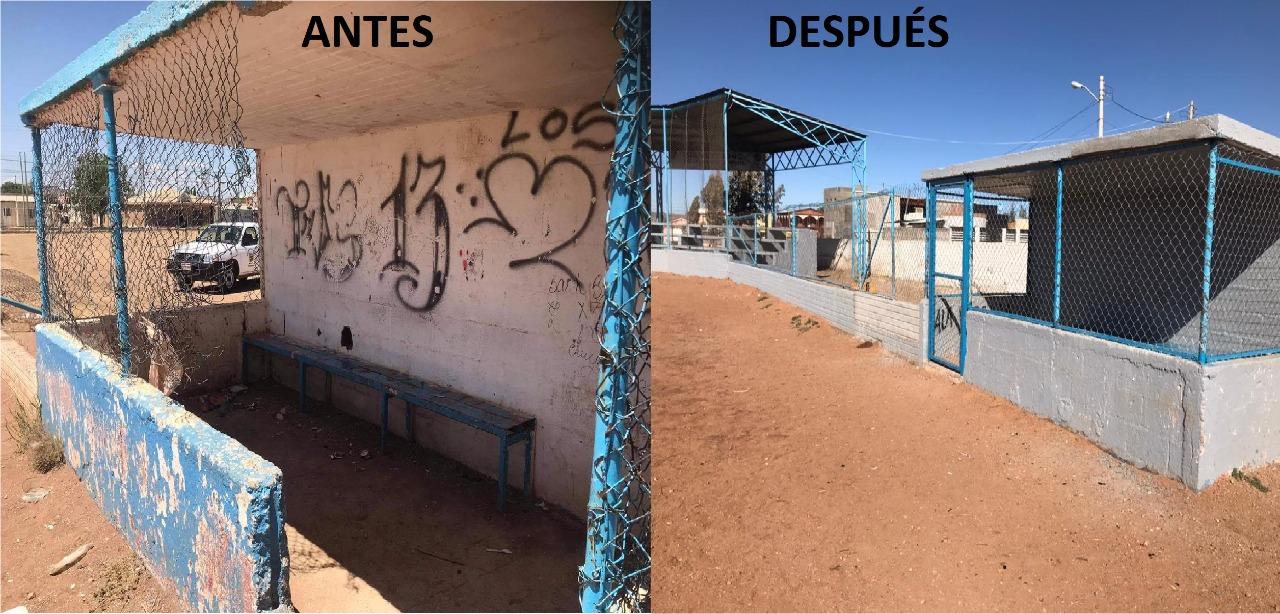 Cuauhtémoc > Avanza Municipio en rehabilitación de nueve instalaciones deportivas