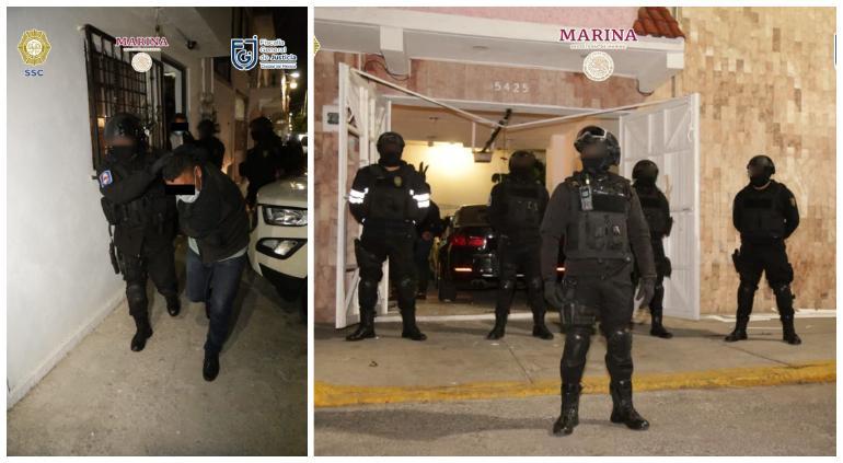 Desmantelan narcolaboratorio en CDMX y arrestan a tres