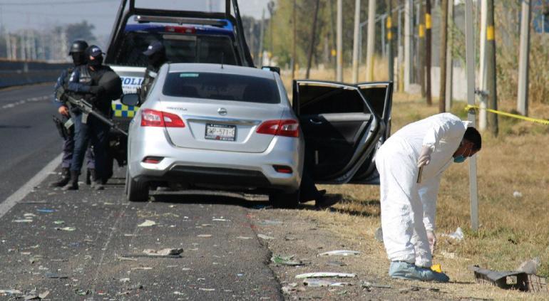Guanajuato: 10 muertos por enfrentamiento de policías y CJNG