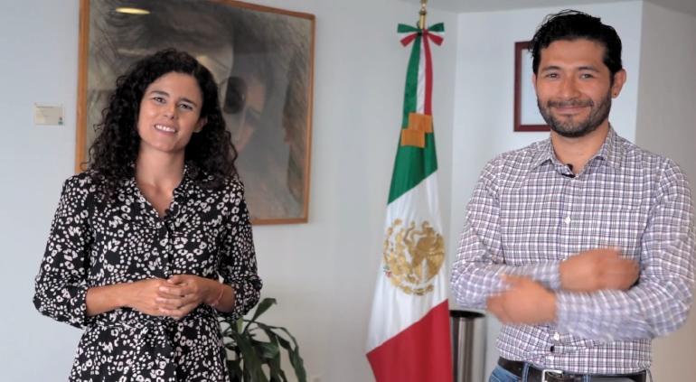 Beca de Jóvenes subirá a $4,310 al mes, anuncia Luisa María Alcalde