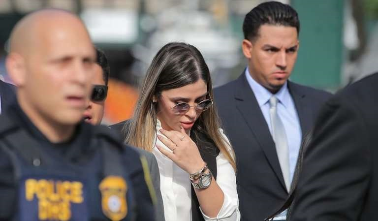 Reacciona hija del chapo tras arresto de Emma Coronel