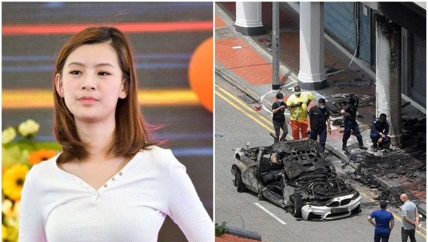 Se quema el 80% de su cuerpo tras intentar salvar a su novio de auto en llamas