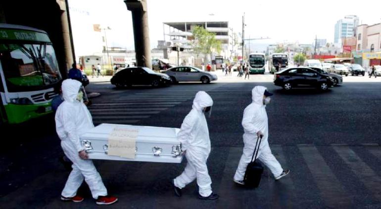 Registra México 531 decesos más por coronavirus