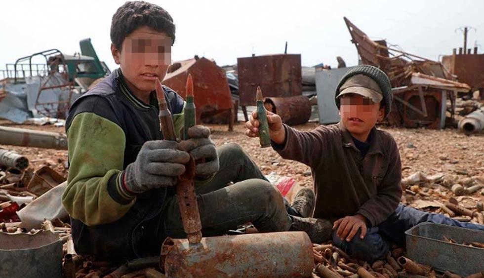 A 10 años de la guerra en Siria: la niñez pulverizada