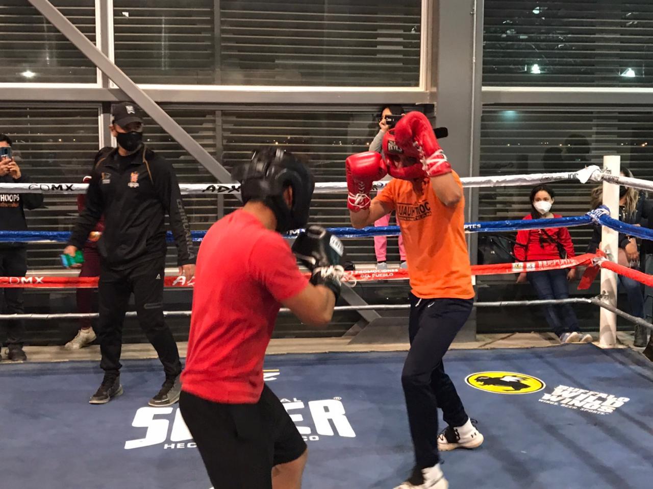 Toma auge familiar escuela de boxeo en Cuauhtémoc