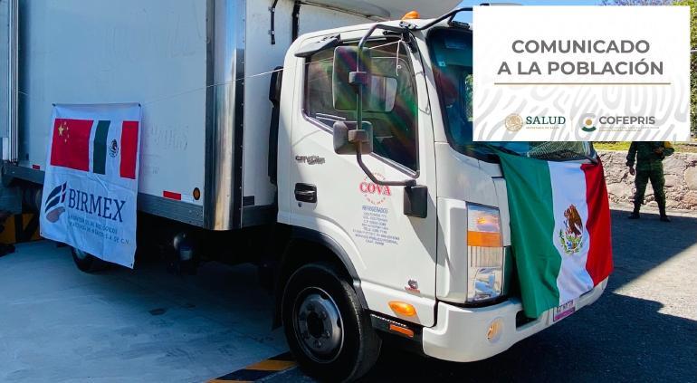 Autorizan usar primeros lotes de vacuna CanSino envasados en México