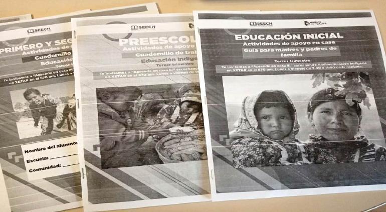 Elaboro Estado 25 mil cuadernos para educación indígena
