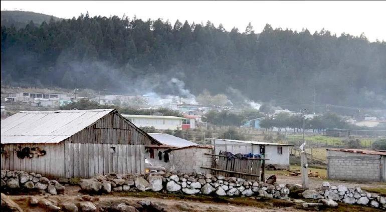 Amaneció Basaseachi a -8.7ºC, la más baja del estado; Majalca: -7ºC