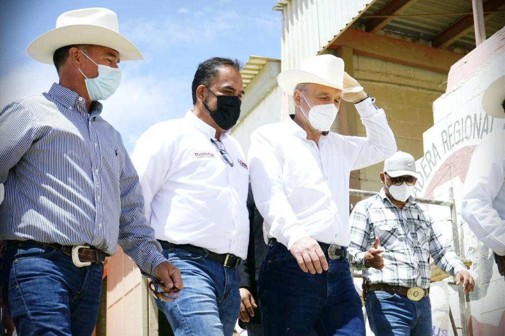 Juan Carlos Loera ofrece ser un aliado del sector ganadero