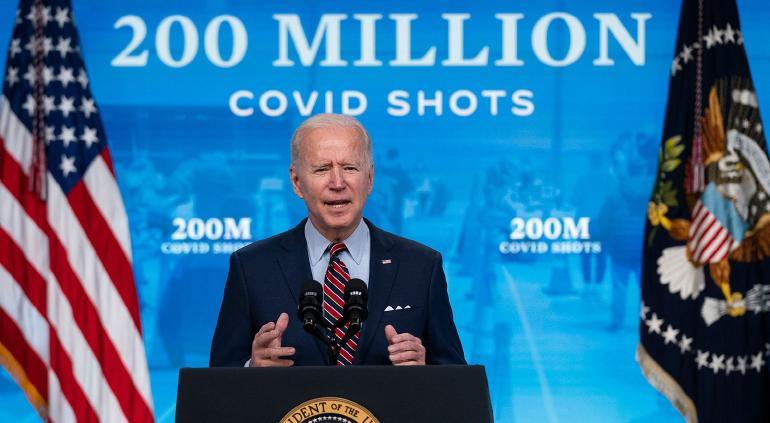 No tenemos suficientes vacunas para mandar afuera: Joe Biden