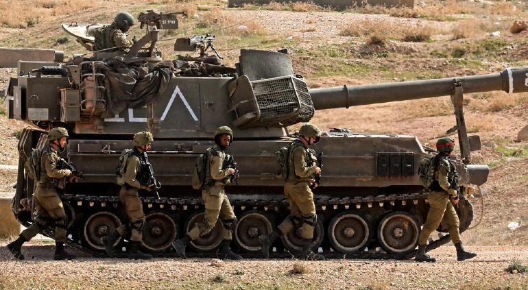 Irrumpen militares israelíes a la Franja de Gaza desde tierra