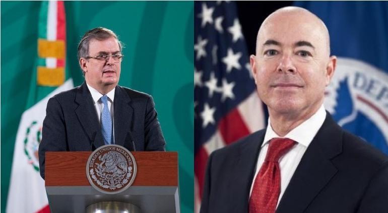 Conversaron Ebrard y secretario de Seguridad de EU sobre la frontera