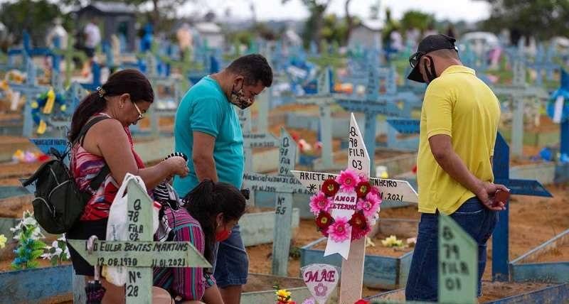 Reporta brasil 25 mil 200 nuevos casos de covid en 24 horas
