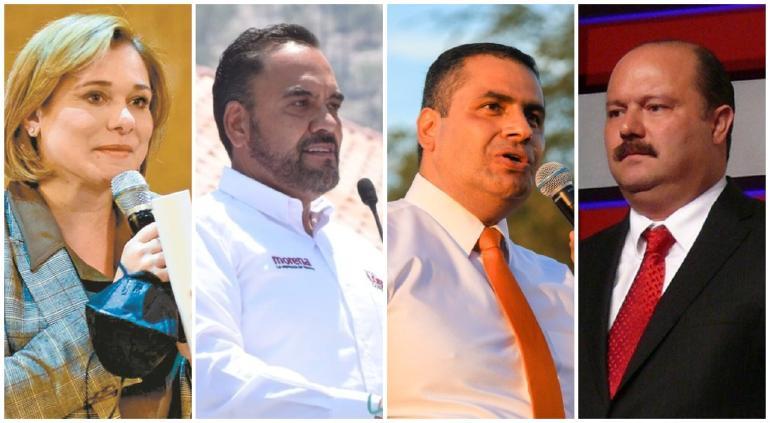 Maru, Loera, Duarte y El Caballo en intenso hackeo y fake news