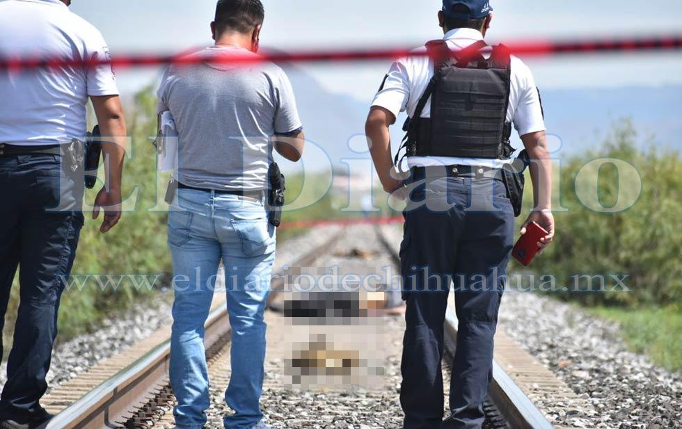 Localizan a hondureño muerto en las vías del tren