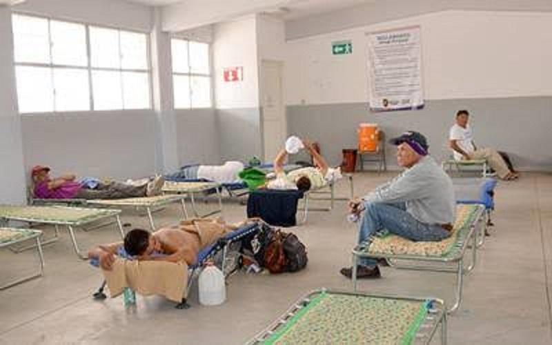 Habilita Municipio refugio temporal Mármol III por fuertes lluvias