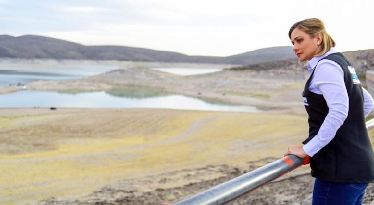"""""""Conflicto del agua, factor de división""""; pide Maru diálogo y acuerdo"""