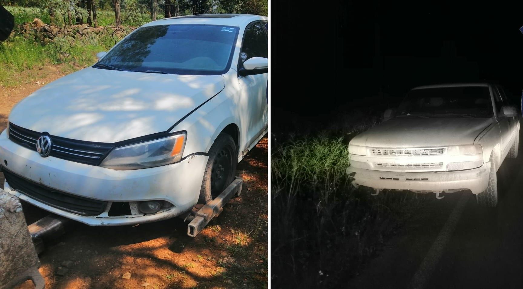 Recuperan en Guachochi dos vehículos robados