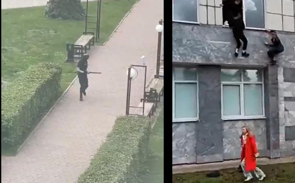 Estudiante mata a al menos seis personas en tiroteo en una universidad de Rusia