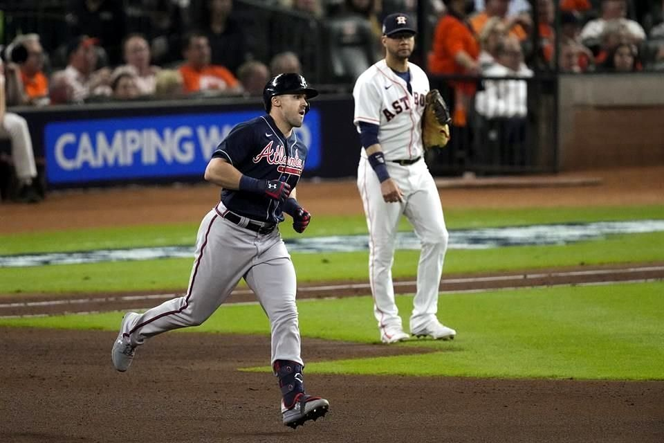 Saca Atlanta lo Bravo y gana el primero a Astros