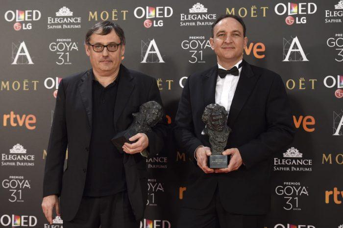 Félix Bergés y Pau Costa ganadores del Goya 2017 a Mejores Efectos Especiales por 'Un monstruo viene a verme'