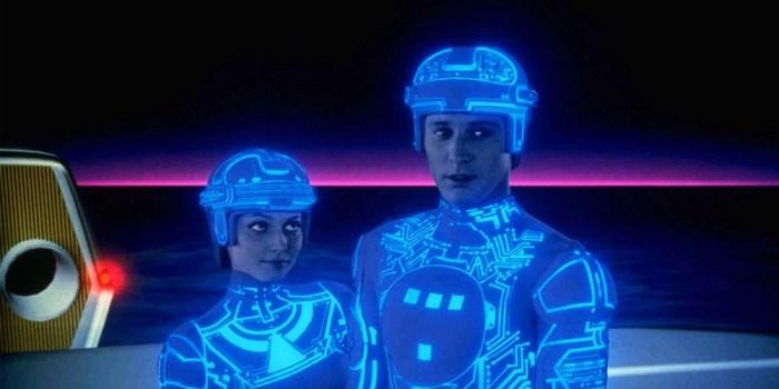 Una de las primeras películas en incluir efectos visuales 'Tron' (Steven Lisberger, 1982)