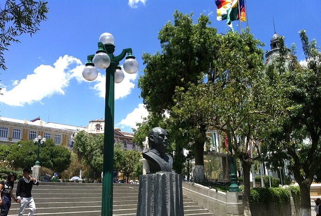 Plaza Murillo La Paz Bolivia 2