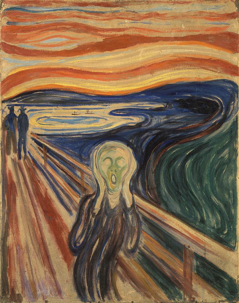 Edvard Munch - El Grito (1893)