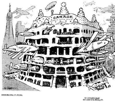 Historia La Pedrera  Gaud en Barcelona