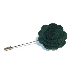 Lapel flower kompakt grønn