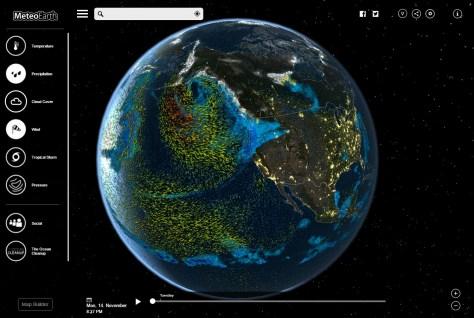 MeteoEarth Weather Globe